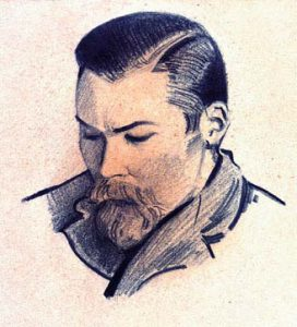Портрет брата Юрия. Индия